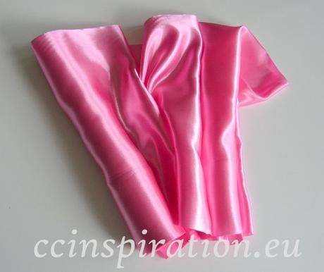 Satén 36cm/9y - ružový,