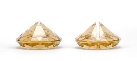 Stojan na menovku diamant - zlatý ( bal. 10ks ),