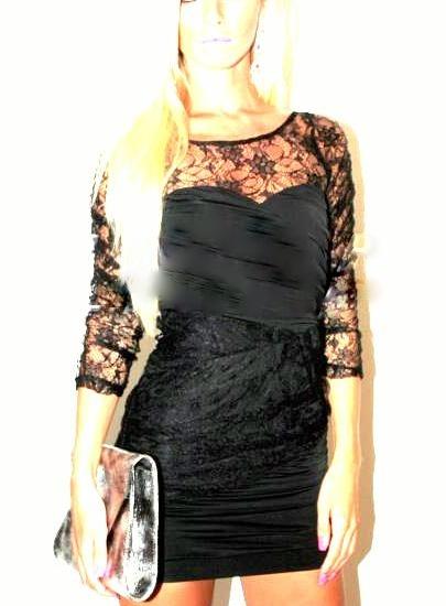 Dámske čipkové šaty, 36