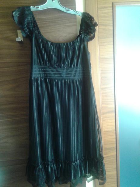 šaty Ever-Pretty černé, XL