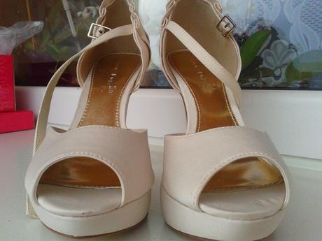 Sandálky na platforme, 39