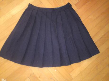 Plisovaná skladaná sukňa, 116