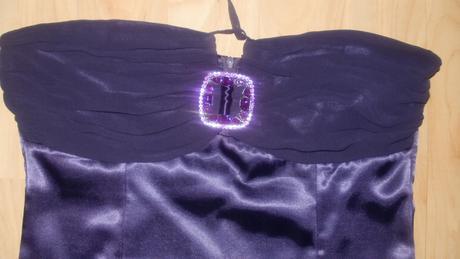 Spoločenské fialové šaty VANILLA by DESPERADO, 42