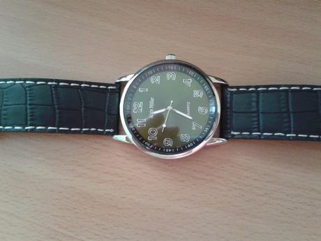 Černé unisex hodinky Alain Miller,