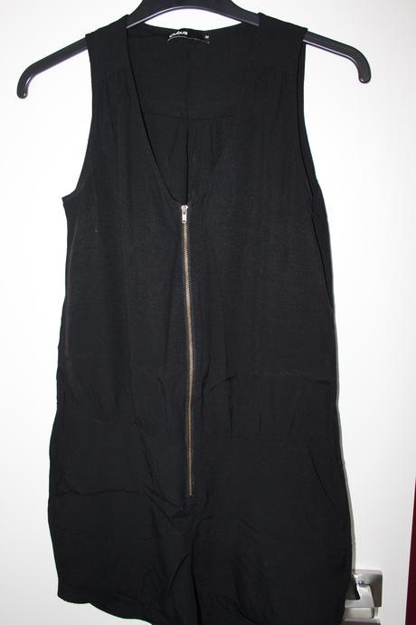 Černý krátký overal zn. Cubus 36/38, 36