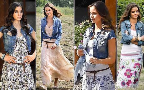 Dlouhá sukně, veselý letní vzor,pružný pas,v.38-40, 38