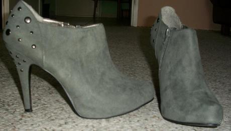 Kotníčkové boty na podpatku, zn F&F, vel.40, 41