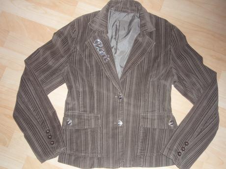 Manžestrové sako/kabátek, 40