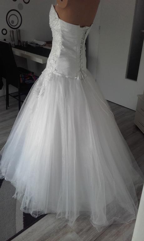 Svatební šaty vel.36-40, 36