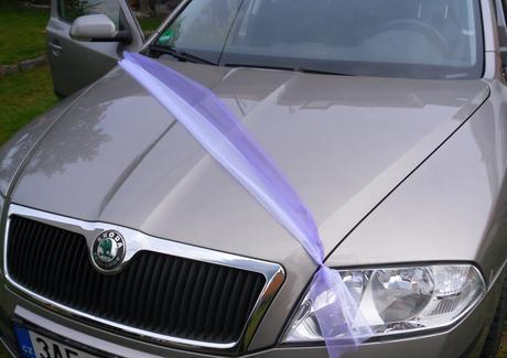 Šerpy na kapotu auta lila 10 ks (s přísavkou) ,