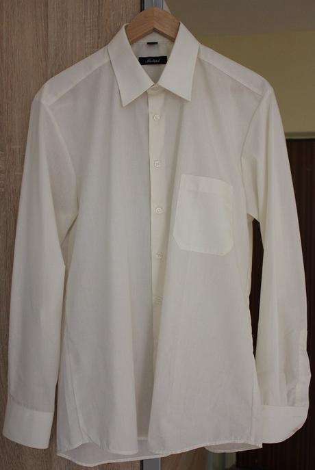 Pánska ivory košeľa, L