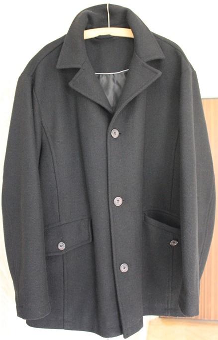 Pánsky čierny kabát, 58