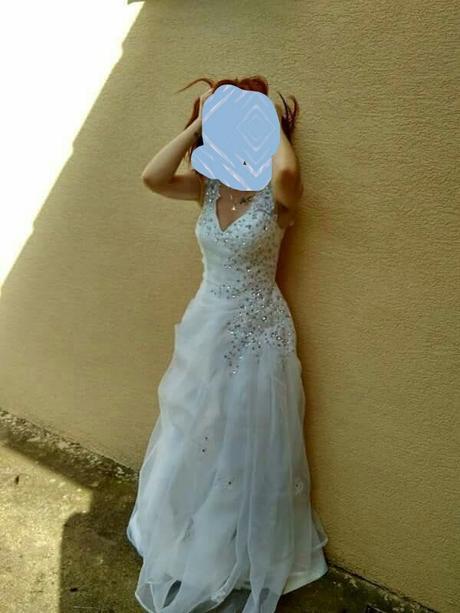 Svadobné šaty veľ. 34-36, 34