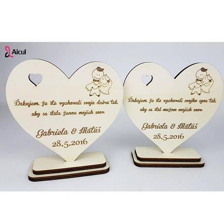 """Aicul - Poděkování rodičům """"Žena / Muž mých snů"""","""