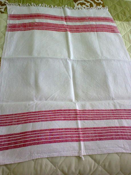 """Ručne tkané """"uteráky"""","""