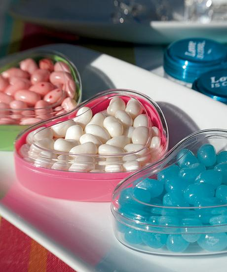 Púzdro na cukrovinky - Kryštáľovo-číra ,
