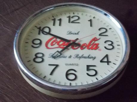 Obrovske retro hodiny ,