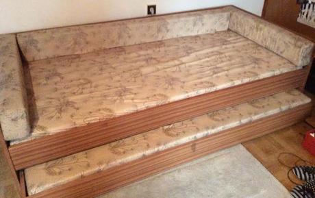 Dvoj - posteľ - vyťahovacia,