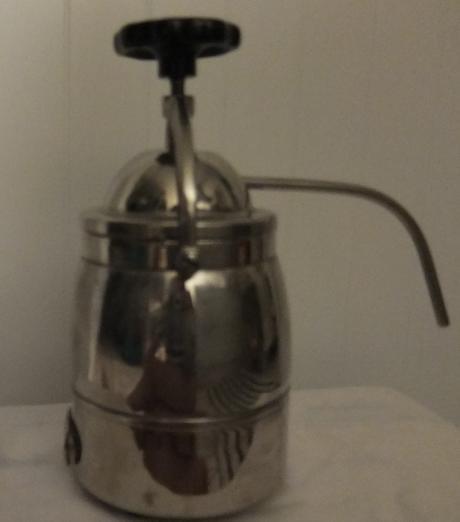Kávovar - nerezový,