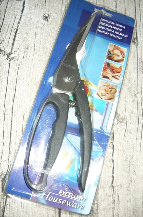 Nerezové nožnice na hydinu,