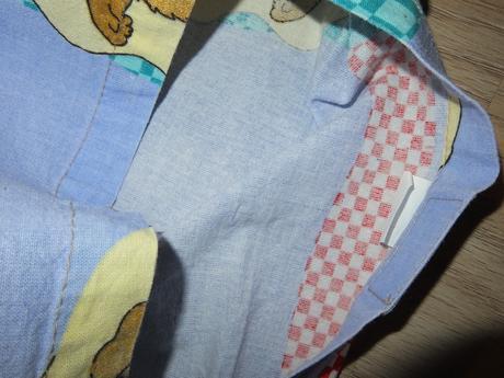 Obliečka na perinku (vankúš) 83 x 62 cm - zajkovia,