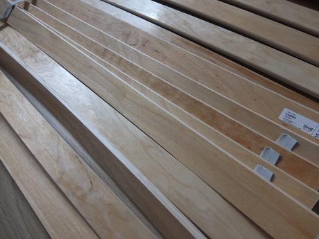 Rošt LUROY z IKEA  90 x 200 cm,