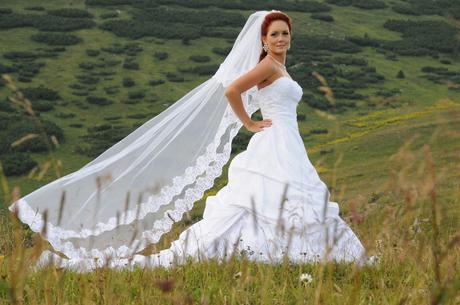 Pronovias svadobne saty 34-38 + cipkovany prehoz, 34