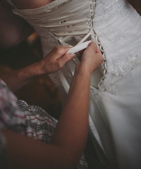 Svatební šaty přírodně bílé, 44