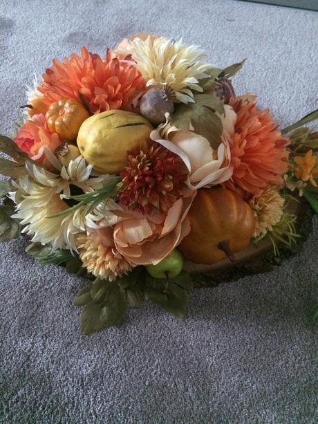 Jesenné aranžmá,
