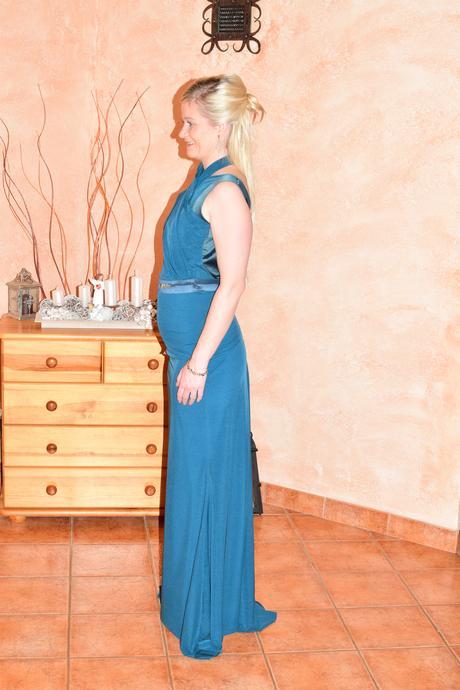 exkluzívne sugarbird spoločenské šaty smaragdovoze, M