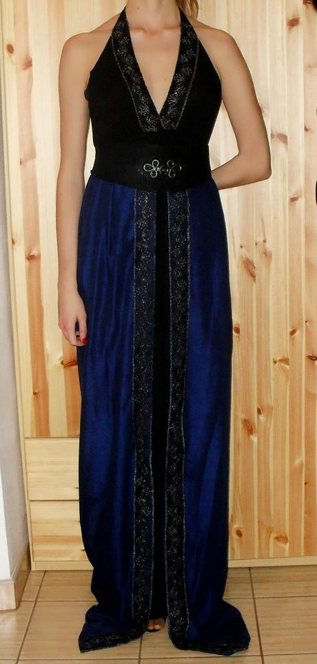 Originálne spoločenské šaty 1x oblečené, M