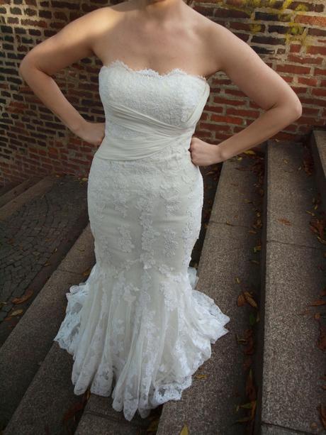 Krajkové  šaty - La Sposa, 38