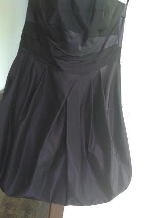 Krátke fialové šaty 40, 40
