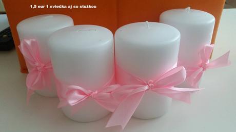 sviečky ,
