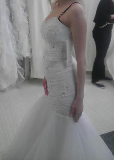Svatební šaty mořská panna, 38