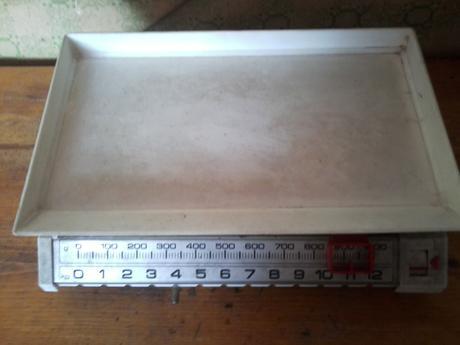 Kuchynská váha,