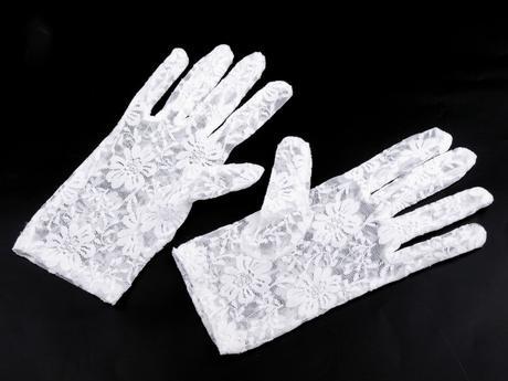 Čipkované rukavičky,
