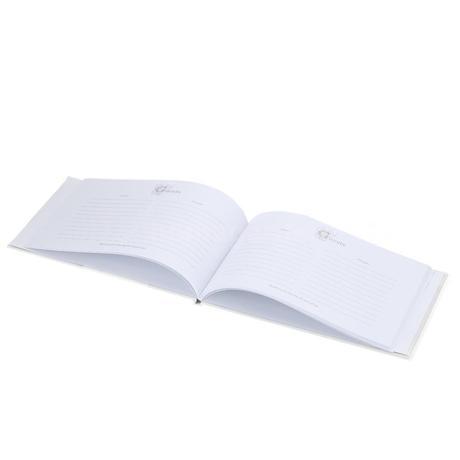 Kniha hostí + pero,