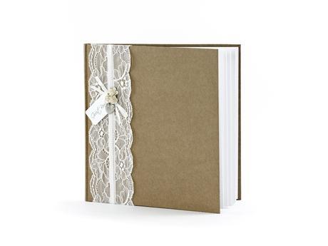 Kniha hostí vintage,