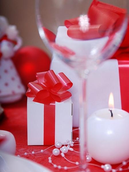 Krabička - darček pre hostí,