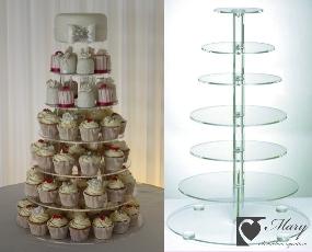 Stojan na muffiny (cupcake) na prenájom,