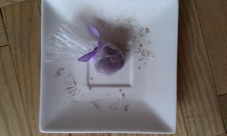 Levandulové dekorativní srdce pro svatební hosty,
