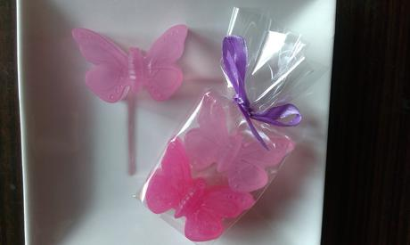 Svatební motýlek - dárek pro svatební hosty,