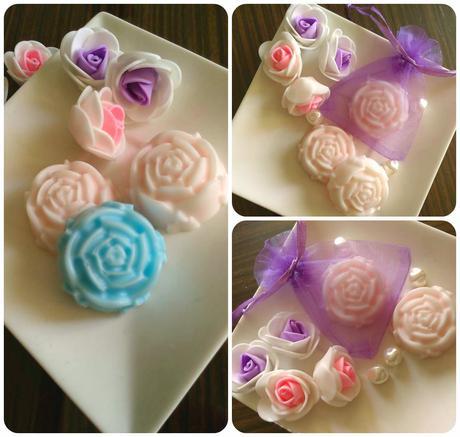 Svatební růže - dárek pro svatební hosty,