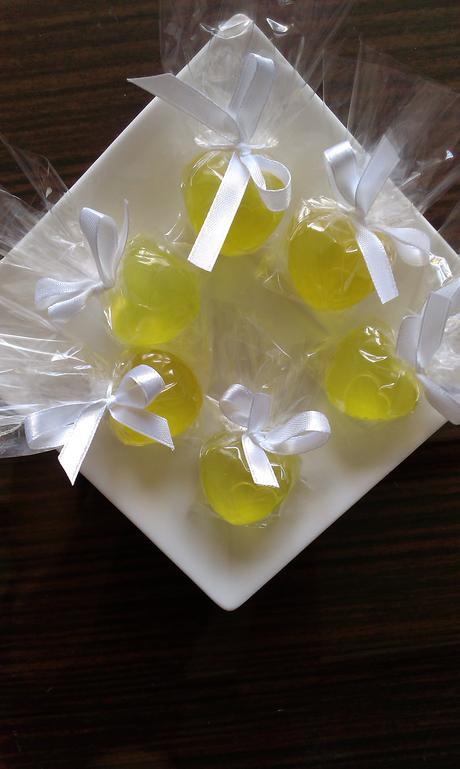 Svatební srdce - dárek pro svatební hosty,