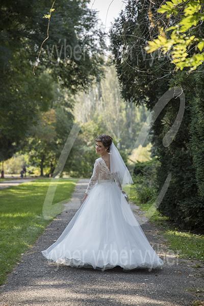 čipkované šaty s dlhým rukávom, 36