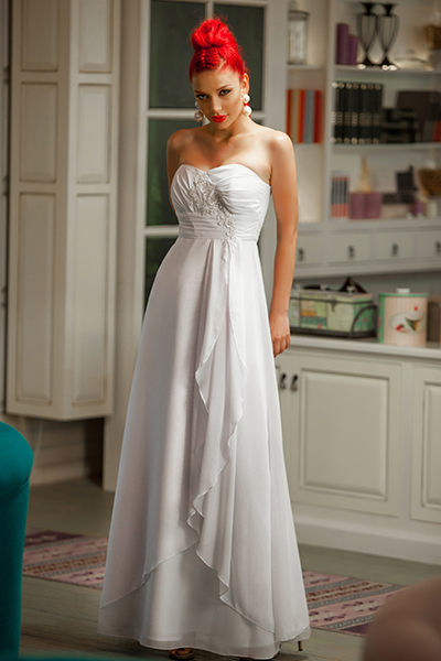 6314893f93ae Svadobné šaty - vhodné aj pre tehotné