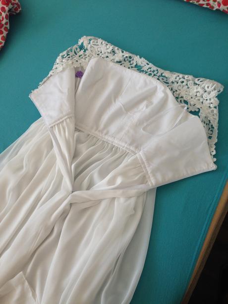 Svadobné šaty s krajkou a šifónom, 38