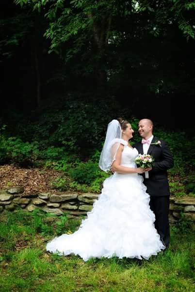 Luxusní svatební šaty vel. 38-42, 40