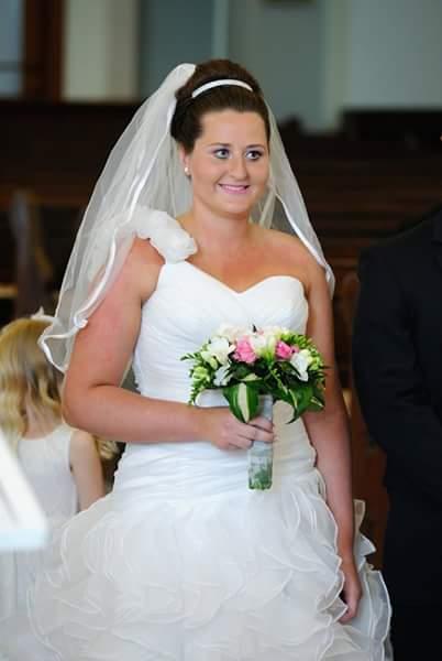 Luxusní svatební šaty vel. 40-44, 40